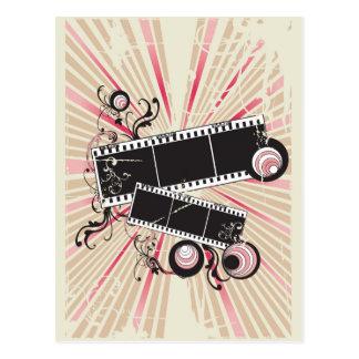 Cartão do filme do vintage