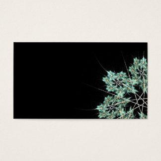 cartão do floco de neve