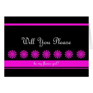 Cartão do florista do divertimento