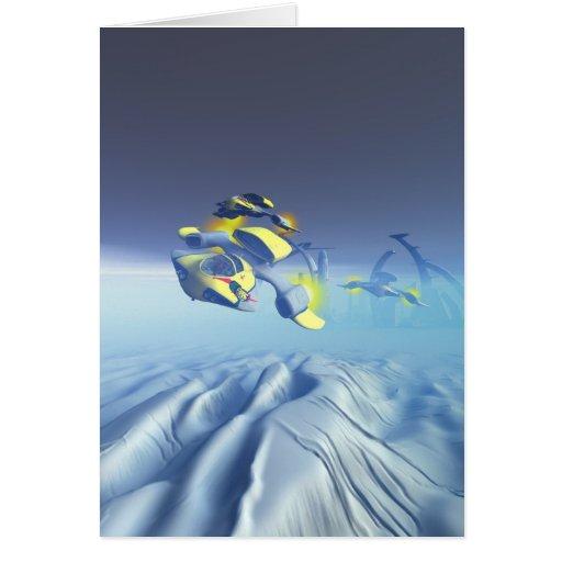 Cartão do Flyover do esquadrão do buldogue
