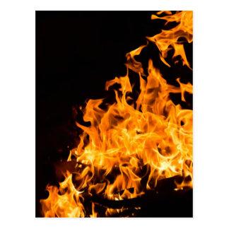 Cartão do fogo