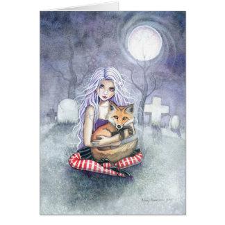 Cartão do Fox de Annie por Molly Harrison