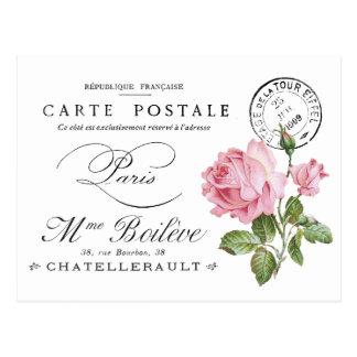 Cartão do francês do vintage