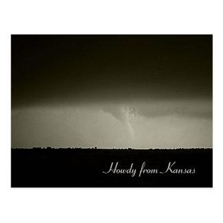Cartão do furacão
