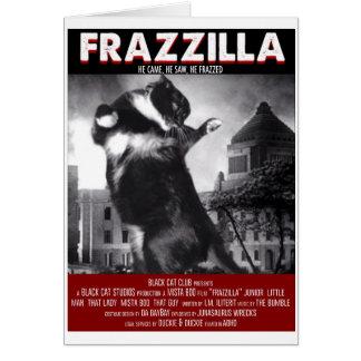 Cartão do gato de Godzilla