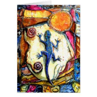 Cartão do geco de PMACarlson