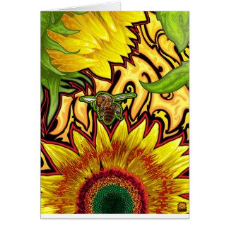 Cartão do girassol