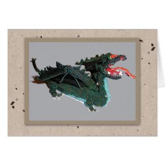 Cartão do grânulo do dragão