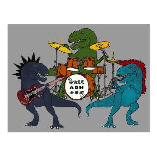 Cartão do grupo de rock de T-Rex