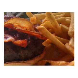 Cartão do hamburguer