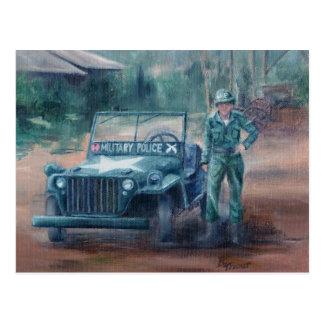 Cartão do herói da Guerra da Coreia