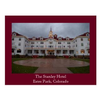 Cartão do hotel de Stanley
