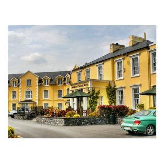 Cartão do hotel do castelo de Bunratty