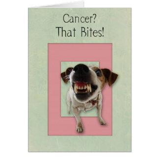 Cartão do incentivo do cancer