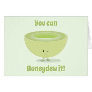 Cartão do incentivo | do Honeydew