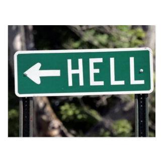 cartão do inferno