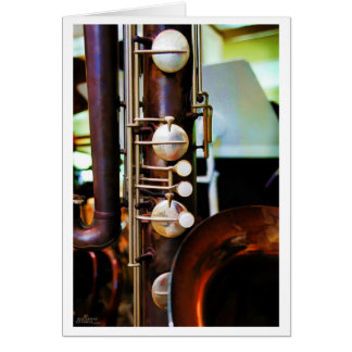 Cartão do instrumento musical