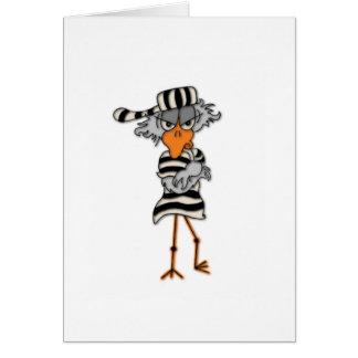 cartão do jailbird