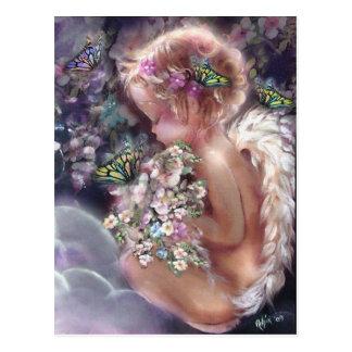 Cartão do jardim do céu