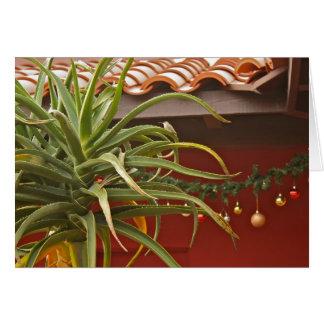 Cartão do jardim do Succulent: Aloedays feliz!