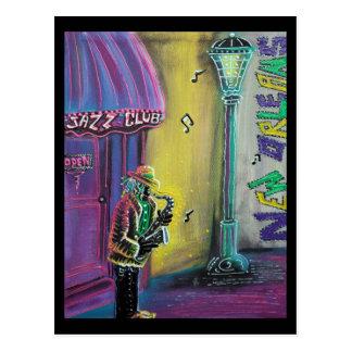 Cartão do jazz