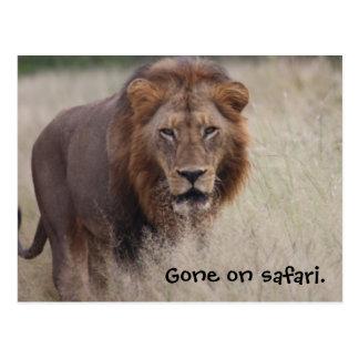 Cartão do leão