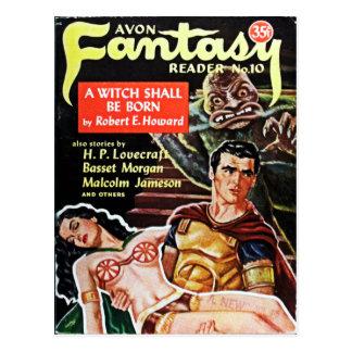 Cartão do leitor da fantasia de Avon