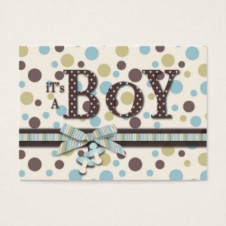 Cartão do lembrete do chá de fraldas do menino