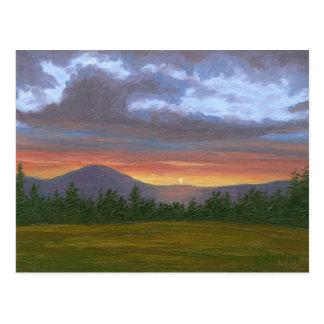 Cartão do leste da paisagem da montanha de Burke