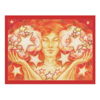 Cartão do Libra do zodíaco