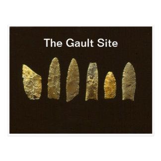 Cartão do local de Gault