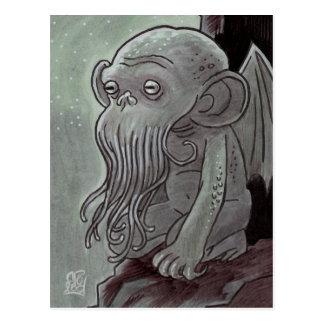 Cartão do macaco de Cthulhu