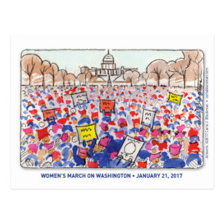 Cartão do março das mulheres