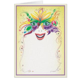 Cartão © do mascarada
