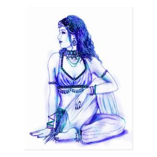 Cartão do Maya Cartão Postal