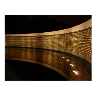 Cartão do memorial da segunda guerra mundial