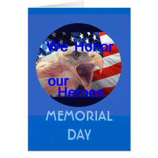 Cartão do Memorial Day