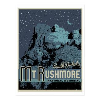 Cartão do memorial do parque nacional do Monte