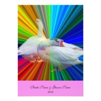 cartão do menu do comensal, dois gansos brancos