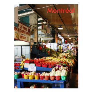 Cartão do mercado de Montreal Atwater
