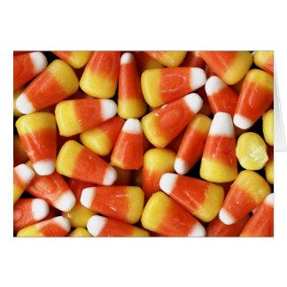 Cartão do milho de doces