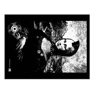 Cartão do Mohawk de Mona