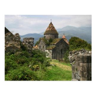 Cartão do monastério de Sanahin