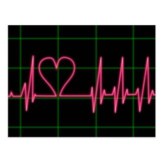 Cartão do monitor de coração
