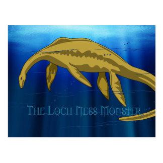 Cartão do monstro de Loch Ness