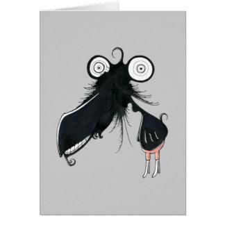Cartão do monstro do Trombone