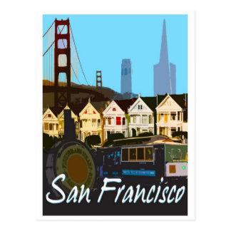 Cartão do montagem de San Francisco