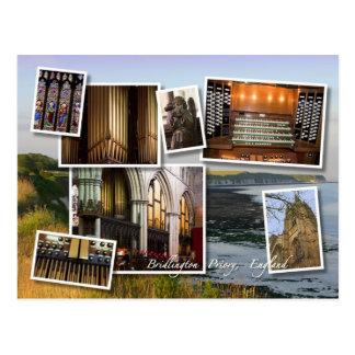 Cartão do montagem do convento de Bridlington