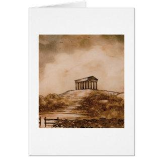 Cartão do monumento de Penshaw