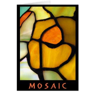 Cartão do MOSAICO